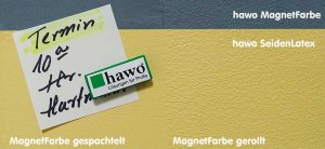 hawo Magnetfarbe in der Anwendung