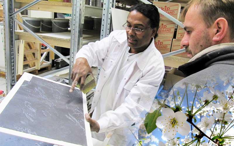 Creativ-Techniken vorgeführt von Dilip Silva