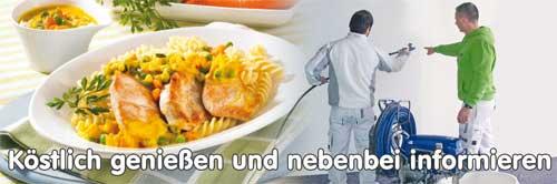 Essen und Informieren in Heilbronn