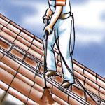 Dach beschichten