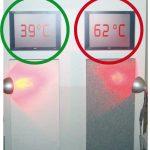 Oberflächentemperatur