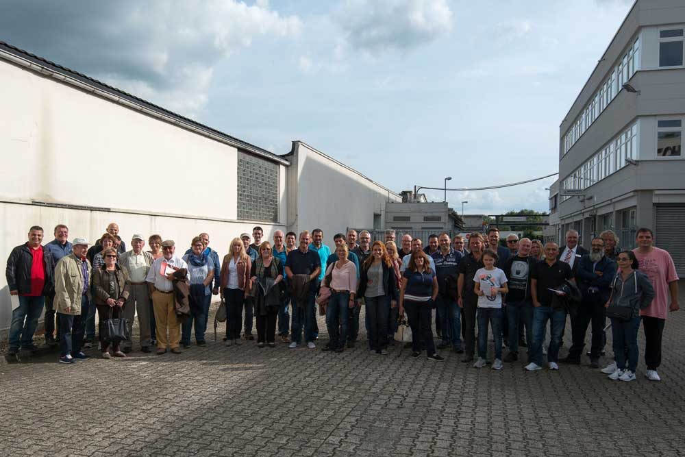 Alle Teilnehmer der Reise nach Hamburg