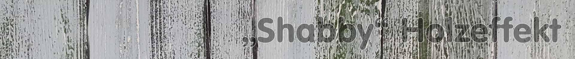 Shabby Holzeffekt