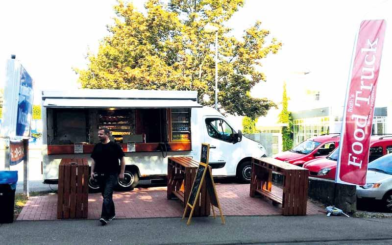 Roth's Food Truck auf der Veranstaltung in Mainz