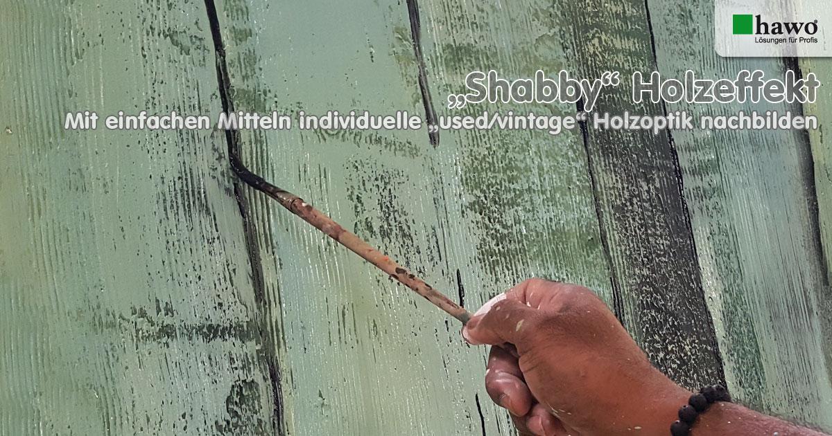 hawo Shabby-Holzeffekt