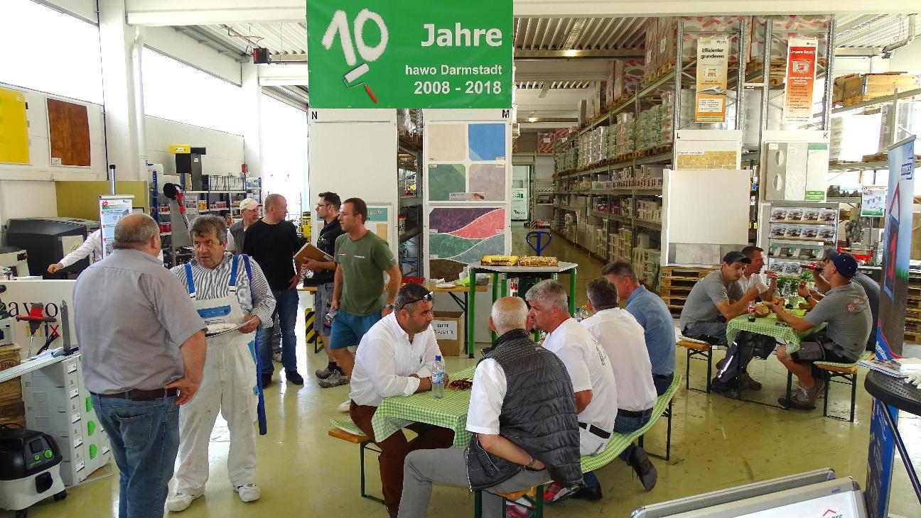 10 Jahre hawo Darmstadt