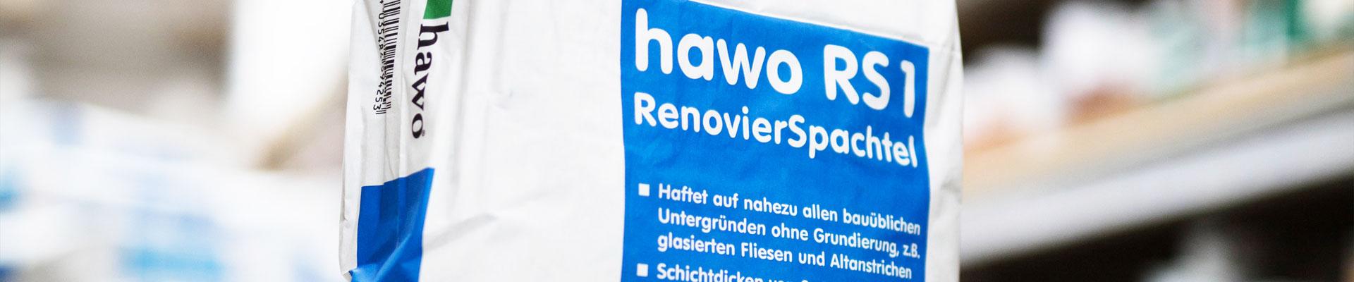 hawo RS1 RenovierSpachtel Banner