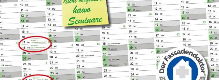 Kalender mit Markierungen