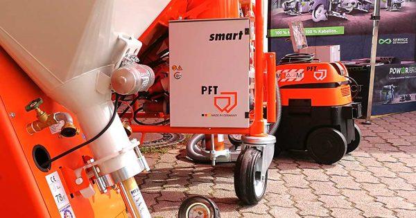 Maschinen von pft und FESTOOL