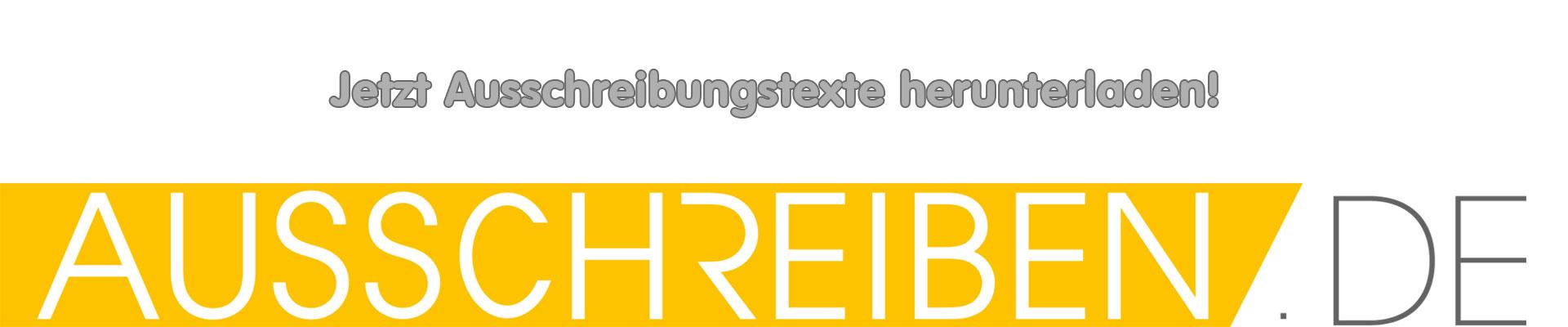 AUSSCHREIBEN.DE Banner