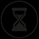 Piktogramm Zeit sparend