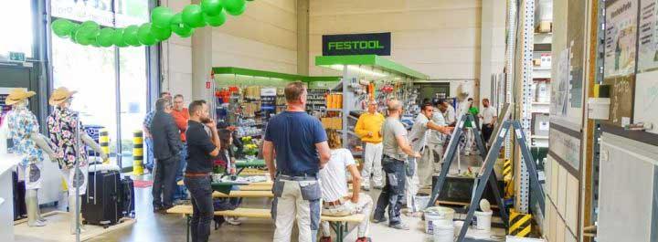 Newsbild zum Filialfest in Eschborn