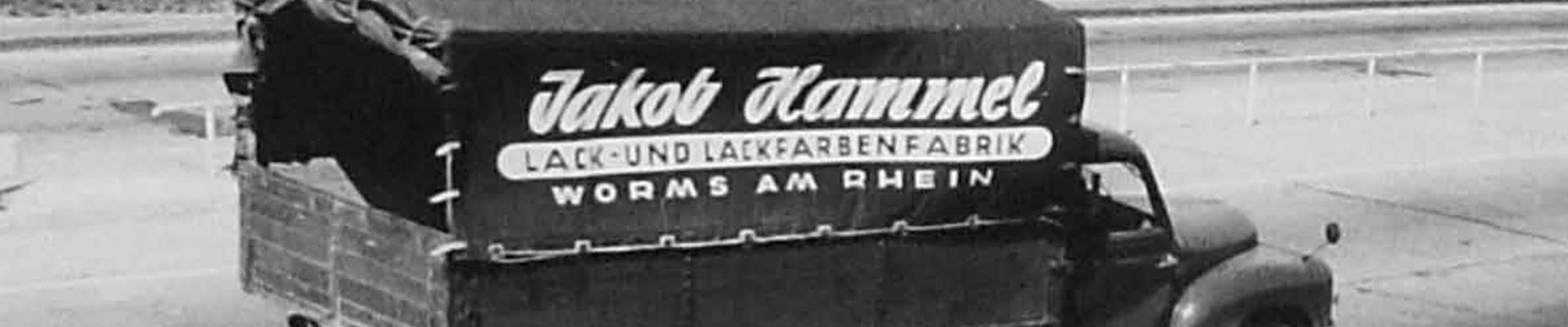 Jakob Hammel LKW Banner
