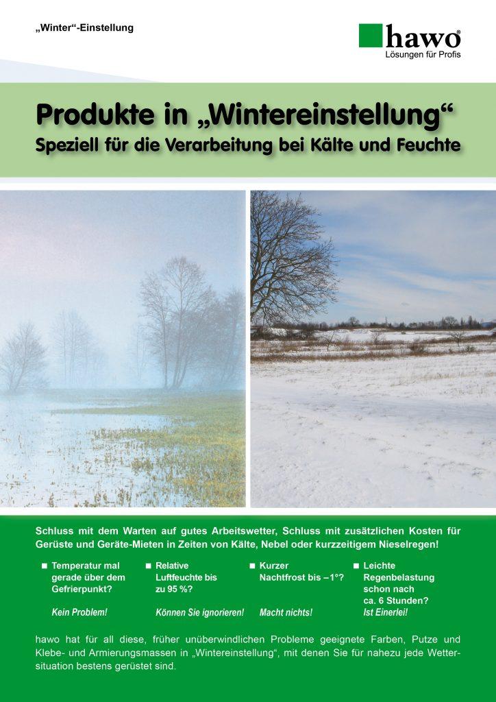 Flyer Wintereinstellung