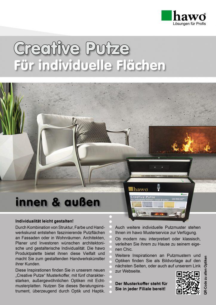 Creative Putze Muster Flyer