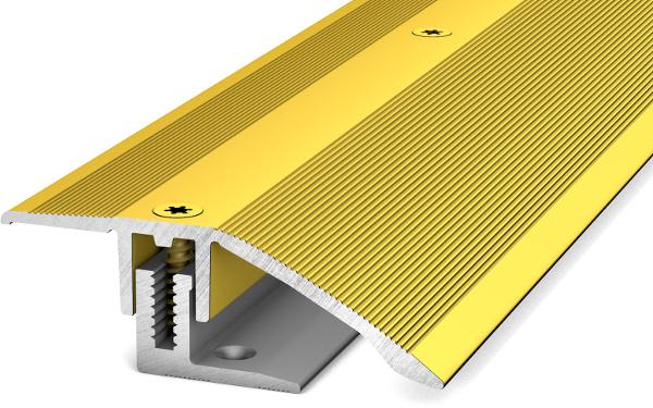 Anpassungsprofil mit Basisprofil 100cm Gold