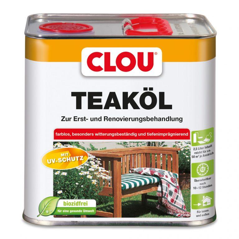 Bild von Clou Teak-Öl farblos
