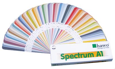 Bild von Musterkarte hawo Spectrum A1