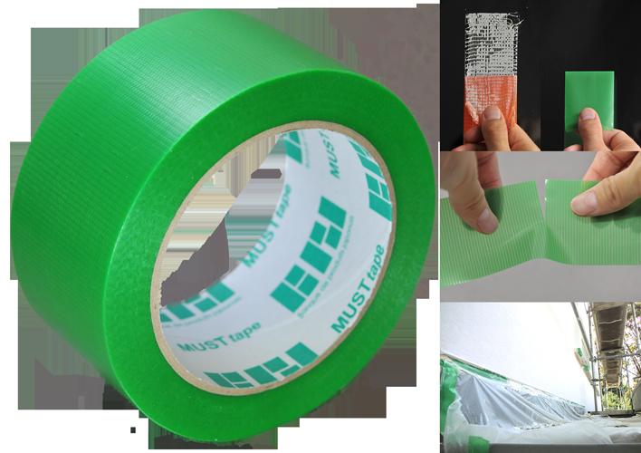 Bild von MUST Tape PE-Gewebeband grün